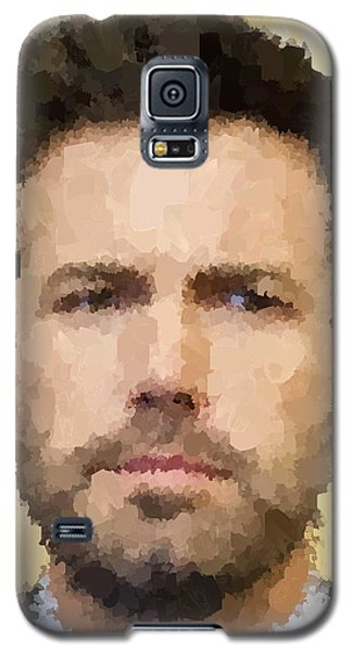 Ben Affleck Portrait Galaxy S5 Case