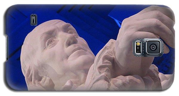 Ben Franklin In Blue I Galaxy S5 Case