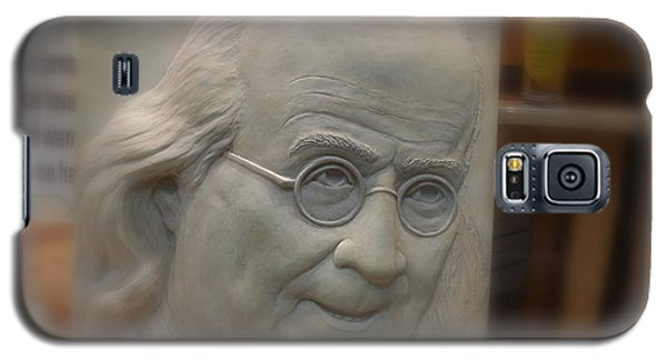 Galaxy S5 Case featuring the photograph Ben Franklin Looking Out by Richard Reeve