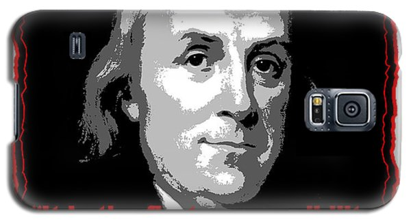 Ben Franklin Question Authority Galaxy S5 Case