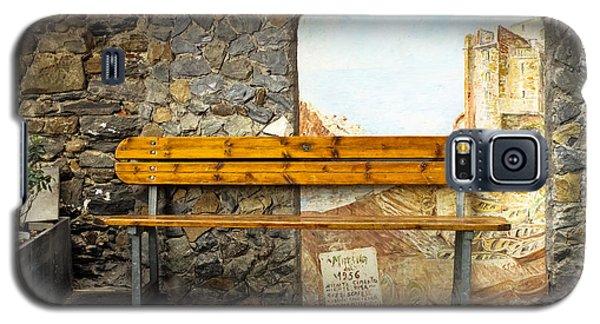 Bench In Riomaggiore Galaxy S5 Case