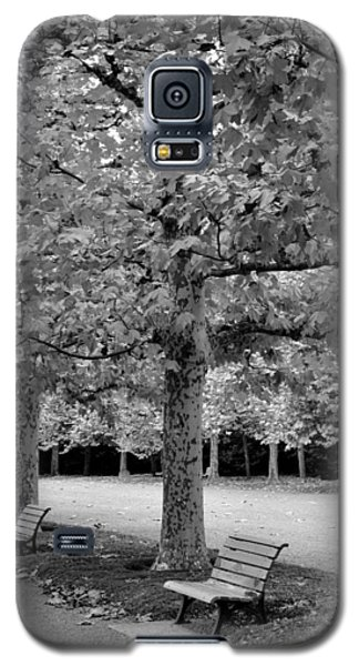 Benches In The Park Galaxy S5 Case