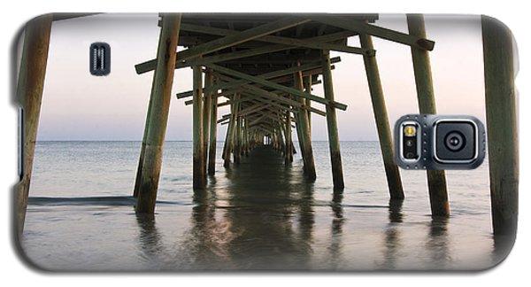 Beneath The Pier A Coastal Scenic Galaxy S5 Case