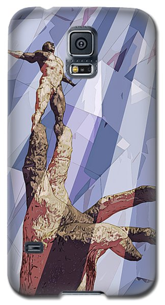 Galaxy S5 Case featuring the digital art Benediction by Matt Lindley