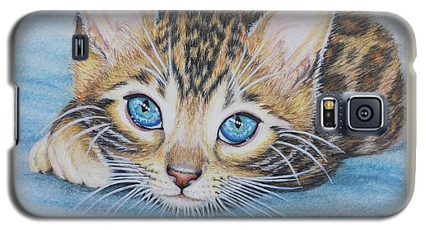 Bengal Kitten Galaxy S5 Case