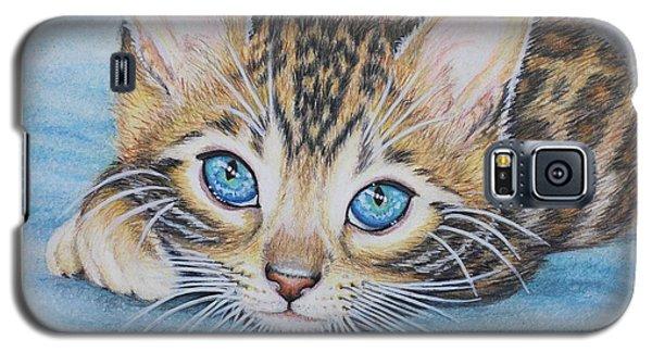 Bengal Kitten Galaxy S5 Case