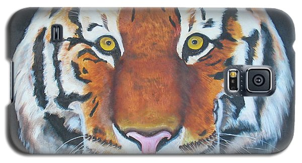 Galaxy S5 Case featuring the painting Bengal Tiger by Thomas J Herring