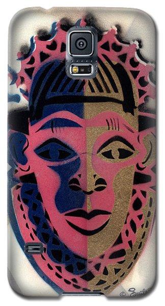 Benin Mask Galaxy S5 Case by Everett Spruill