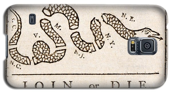 Benjamin Franklin's Join Or Die Cartoon Galaxy S5 Case