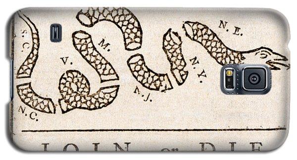 Benjamin Franklin's Join Or Die Cartoon Galaxy S5 Case