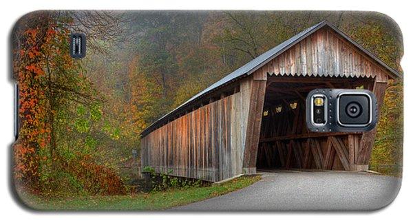 Bennett Mill Covered Bridge Galaxy S5 Case