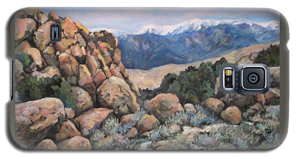 Galaxy S5 Case featuring the painting Benton by Donna Tucker