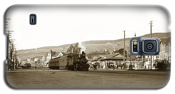 Berkeley California Train Station Circa 1902 Galaxy S5 Case
