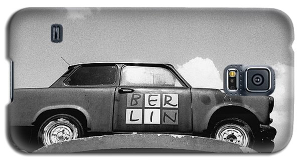 Galaxy S5 Case featuring the photograph Berlin Trabant by Dean Harte