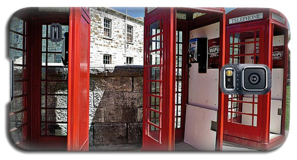 Bermuda Phone Boxes 2 Galaxy S5 Case by Richard Reeve