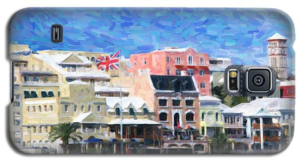 Galaxy S5 Case featuring the photograph Bermuda Waterfront by Verena Matthew
