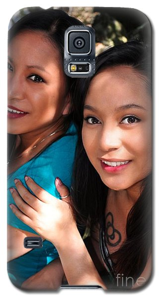 Bernadette And Britney 1 Galaxy S5 Case
