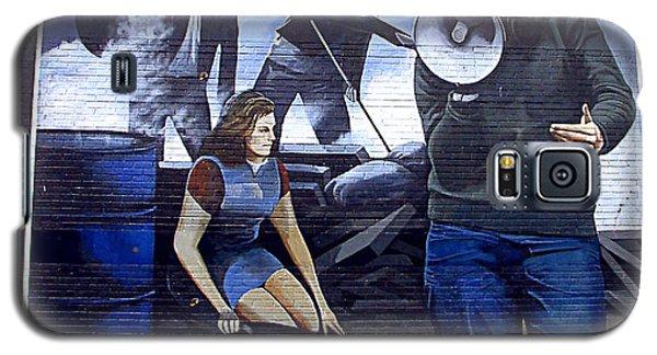 Bernadette Devlin Mural Galaxy S5 Case