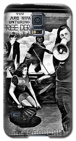 Bernadette Devlin Mural 2 Galaxy S5 Case