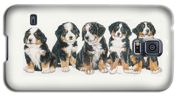 Bernese Mountain Dog Puppies Galaxy S5 Case