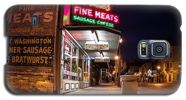 Bernies Fine Meats Signage Galaxy S5 Case