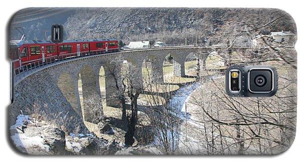 Bernina Express In Winter Galaxy S5 Case