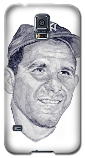 Galaxy S5 Case featuring the painting Berra by Tamir Barkan