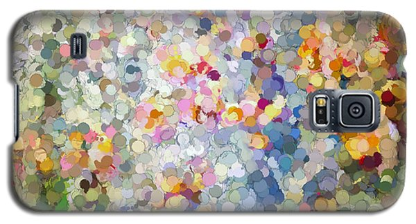 Berries Around The Tree - Abstract Art Galaxy S5 Case