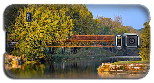 Berry Creek Bridge Galaxy S5 Case