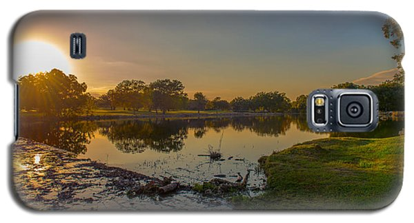 Berry Creek Sun Set Galaxy S5 Case