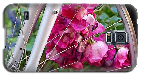 Bespoke Flower Arrangement Galaxy S5 Case by Rona Black
