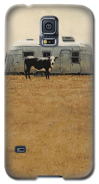 Bessie Wants To Travel Galaxy S5 Case by Ron Crabb