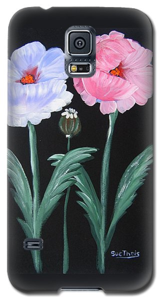Galaxy S5 Case featuring the painting Best Buds by Suzanne Theis
