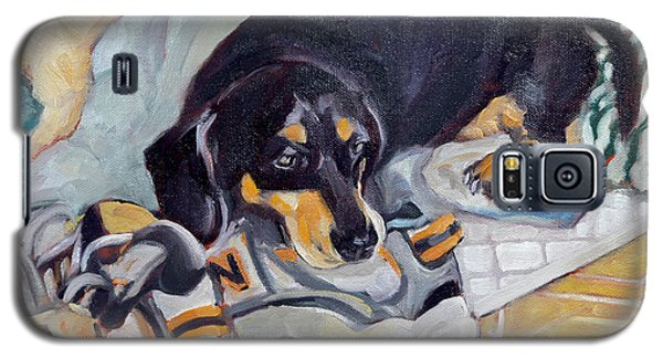 Best Dog In The Whole World Galaxy S5 Case by Pattie Wall