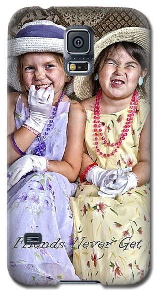 Best Friends Card Galaxy S5 Case
