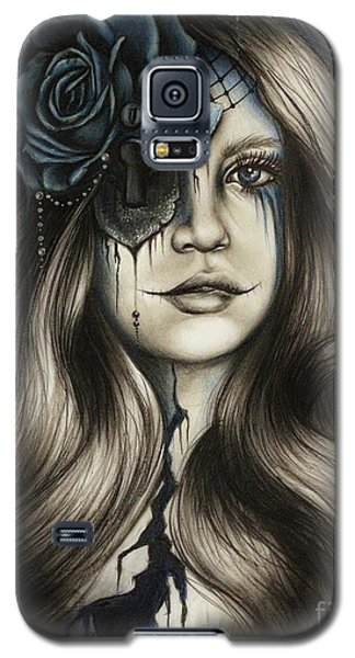 Galaxy S5 Case featuring the drawing Betrayal by Sheena Pike
