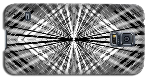 Galaxy S5 Case featuring the digital art Between Black And White by Brian Johnson