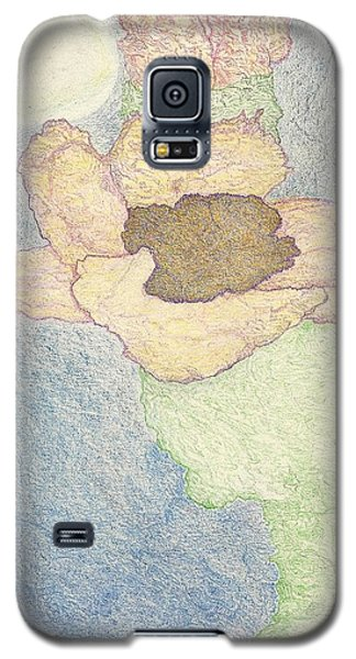 Galaxy S5 Case featuring the drawing Between Dreams by Kim Pate