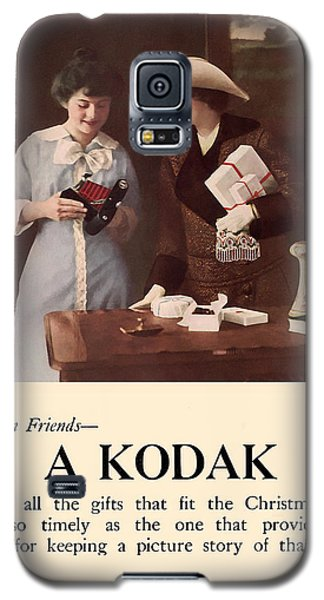 Between Friends. Circa 1915. Galaxy S5 Case