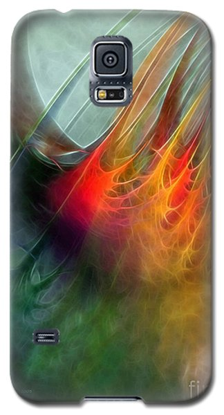 Between Heaven And Earth-abstract Galaxy S5 Case