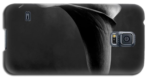 Art Black And White Flowers Photography Galaxy S5 Case