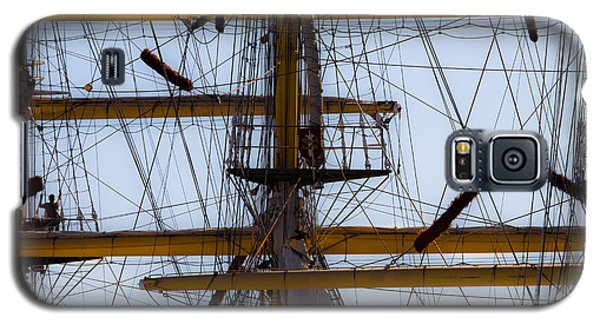 Between Masts And Ropes Galaxy S5 Case