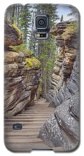 Between The Stones Galaxy S5 Case by Wanda Krack