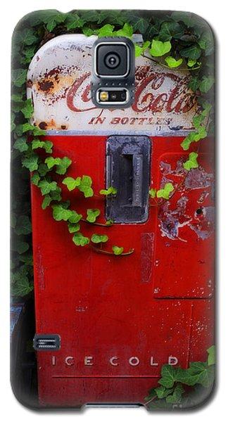 Austin Texas - Coca Cola Vending Machine - Luther Fine Art Galaxy S5 Case