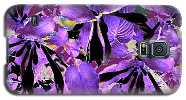 Galaxy S5 Case featuring the digital art Beware The Midnight Garden by Seth Weaver