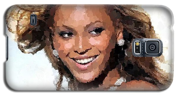 Beyonce Portrait Galaxy S5 Case