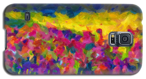 Galaxy S5 Case featuring the painting Beyond A Simple Love by Joe Misrasi