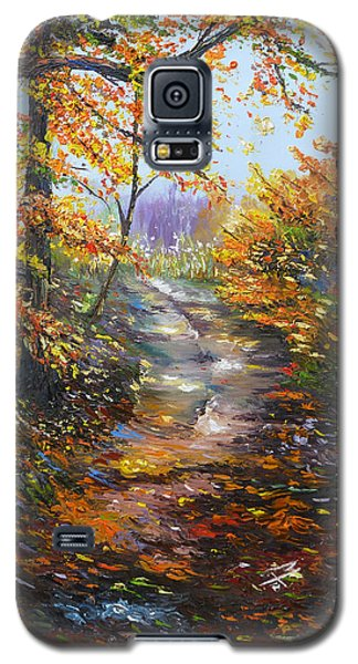 Galaxy S5 Case featuring the painting Beyond Measure by Meaghan Troup