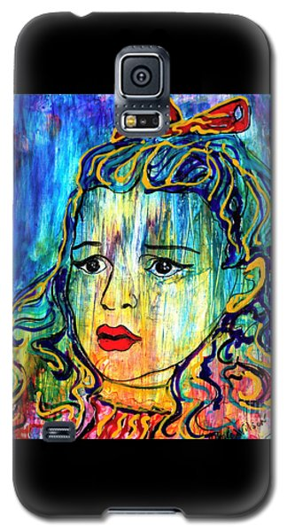 Galaxy S5 Case featuring the painting Beyond The Rain by D Renee Wilson