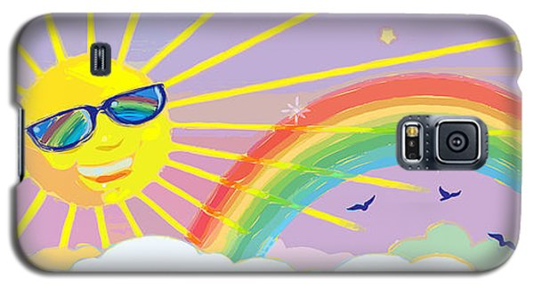 Beyond The Rainbow Galaxy S5 Case by J L Meadows